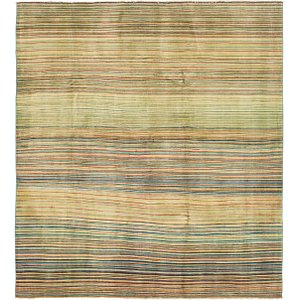 HandKnotted 6' 6 x 7' 3 Modern Ziegler Square Rug