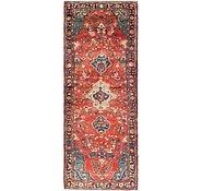 Link to 115cm x 323cm Hamedan Persian Runner Rug