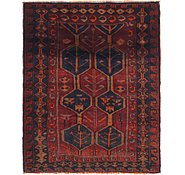 Link to 5' 6 x 7' Shiraz Persian Square Rug