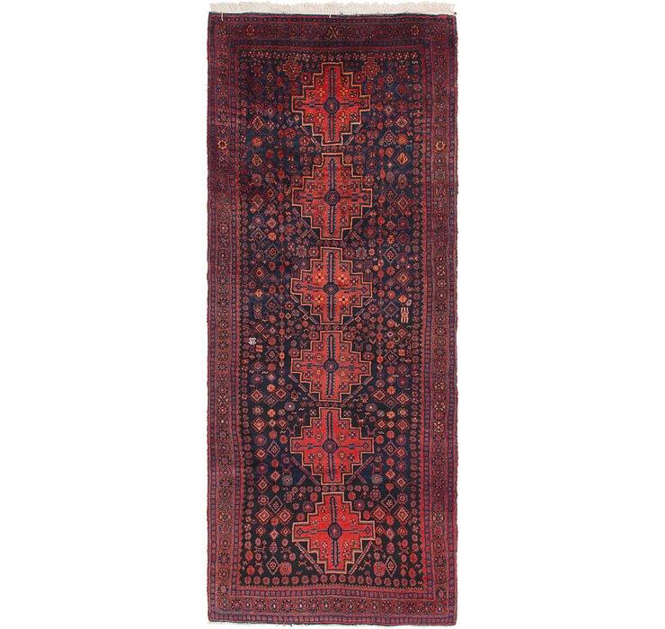 4' 2 x 10' 6 Senneh Persian Runner Rug