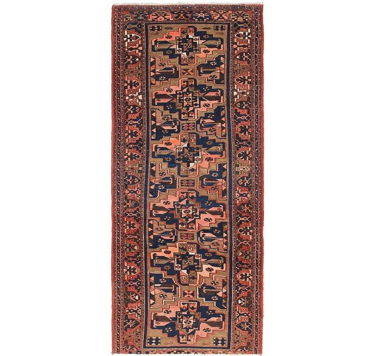 3' 10 x 9' 6 Saveh Persian Runner Rug