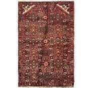 Link to 75cm x 122cm Hossainabad Persian Rug