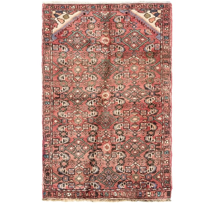 2' 6 x 4' Hossainabad Persian Rug