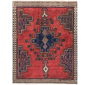 Link to 4' 5 x 5' 8 Hamedan Persian Rug