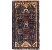 Link to 3' 8 x 6' 6 Balouch Persian Rug