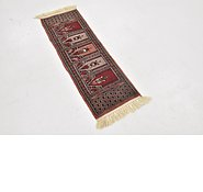 Link to 1' 1 x 3' 3 Bokhara Oriental Runner Rug