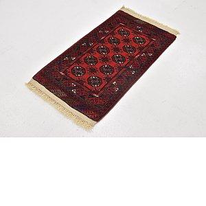 1' 10 x 3' 6 Afghan Mouri Rug