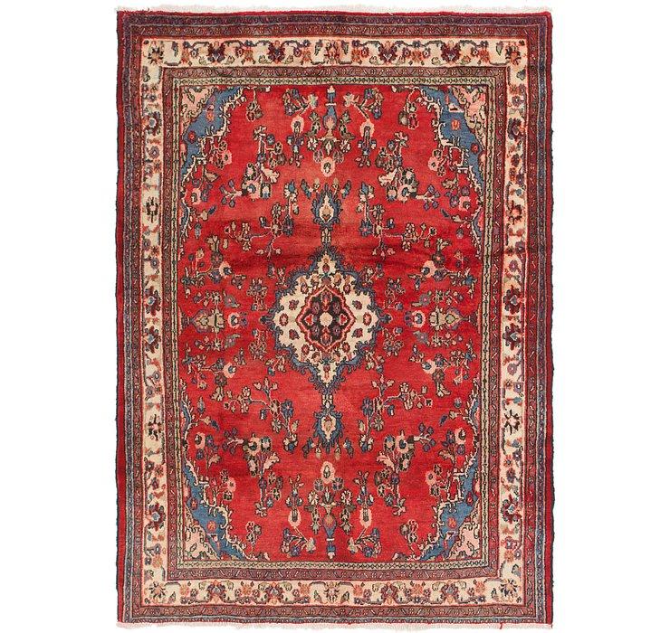 213cm x 292cm Hamedan Persian Rug