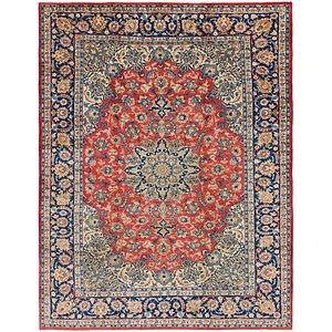10' x 12' 8 Isfahan Persian Rug