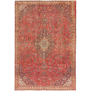 Link to 7' x 10' Mashad Persian Rug item page