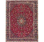 Link to 9' 6 x 12' Mashad Persian Rug