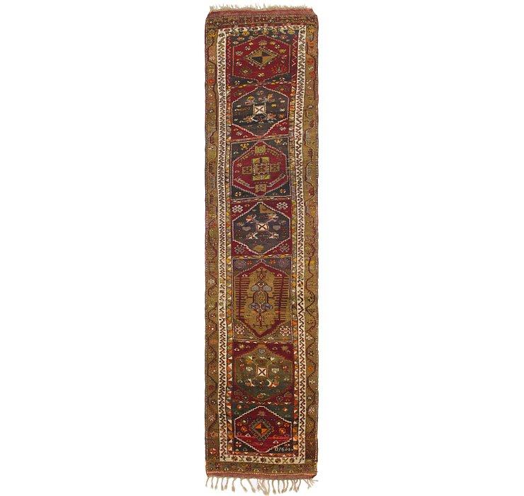 110cm x 493cm Anatolian Oriental Runn...