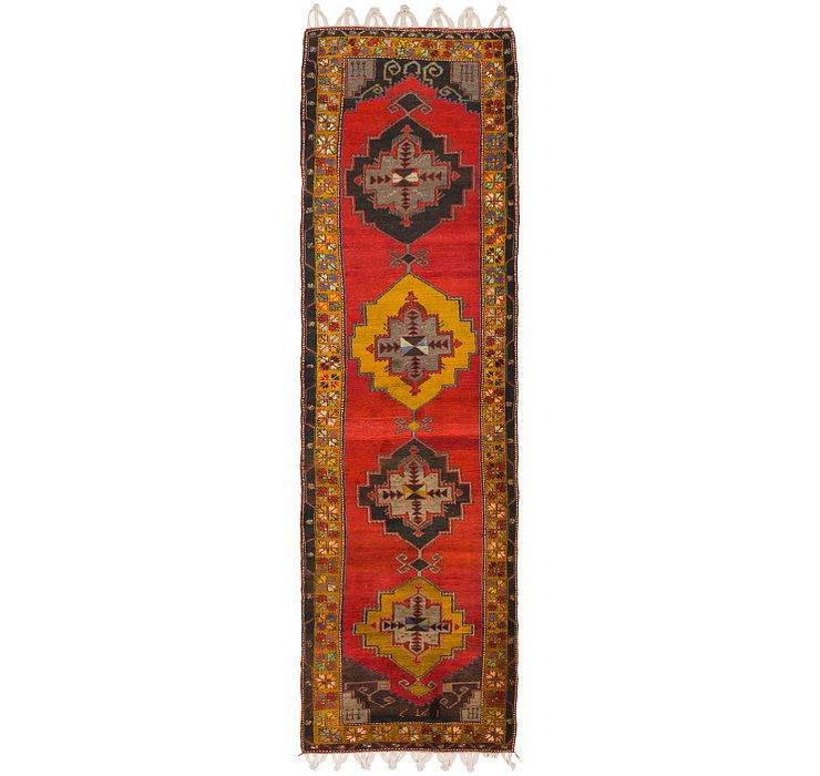 4' 3 x 15' 5 Anatolian Runner Rug