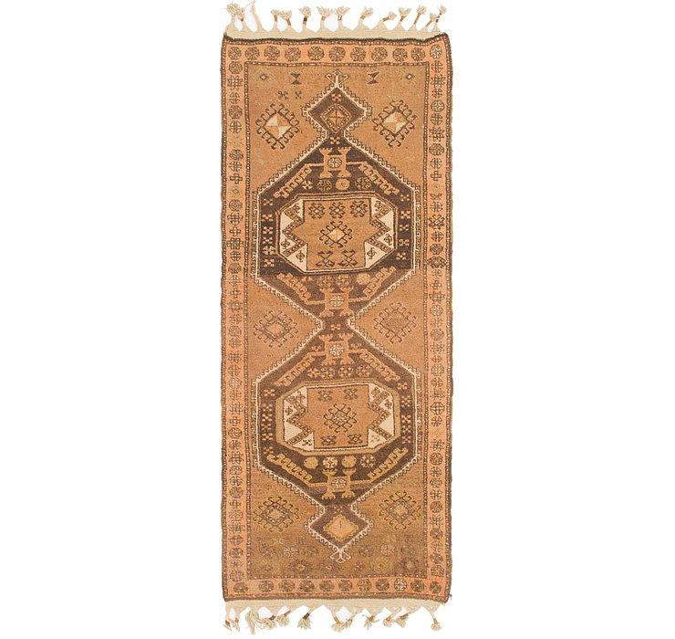 3' 4 x 9' Anatolian Runner Rug