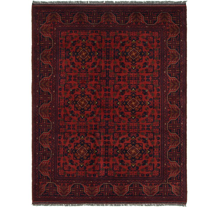 5' x 6' 5 Khal Mohammadi Square Rug