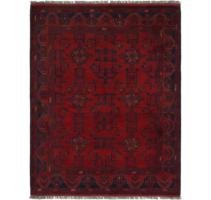 HandKnotted 5' x 6' 4 Khal Mohammadi Square Rug