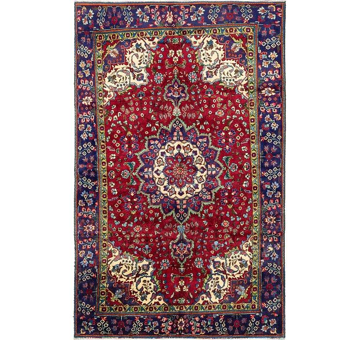 188cm x 305cm Tabriz Persian Rug