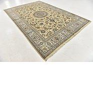 Link to 7' 10 x 11' 9 Nain Persian Rug