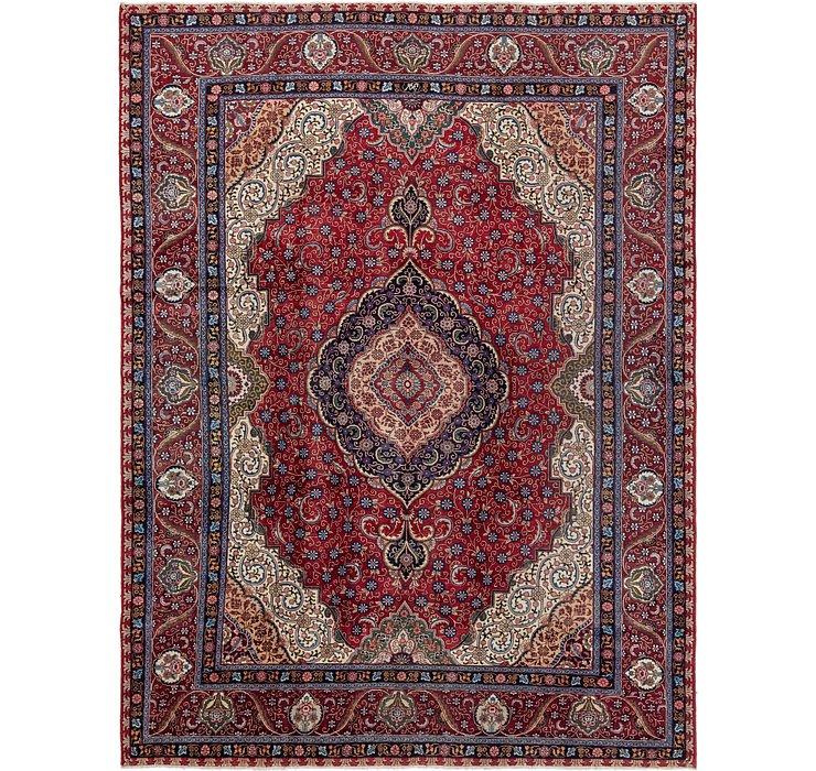 10' 2 x 13' 5 Tabriz Persian Rug