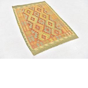 Link to 3' 3 x 4' 10 Kilim Waziri Rug item page