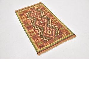 Link to 80cm x 130cm Kilim Waziri Rug item page