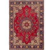 Link to 8' 3 x 12' Tabriz Persian Rug