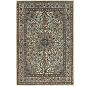 Link to 6' 6 x 9' 5 Kashan Persian Rug