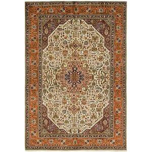 Link to 193cm x 287cm Tabriz Persian Rug page