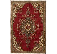 Link to 5' 9 x 9' Tabriz Persian Rug
