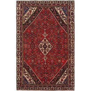 HandKnotted 6' x 9' 6 Hamedan Persian Rug