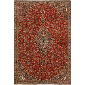 Link to 203cm x 305cm Mashad Persian Rug item page