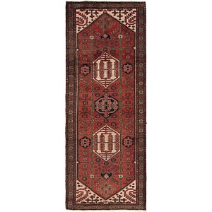 Link to 107cm x 287cm Saveh Persian Runner Rug item page
