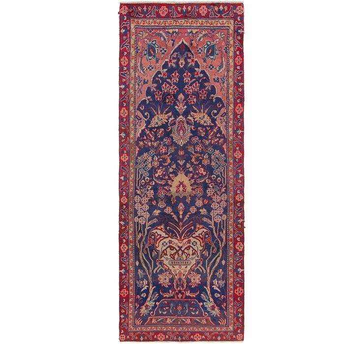 3' x 9' 3 Mahal Persian Runner Rug