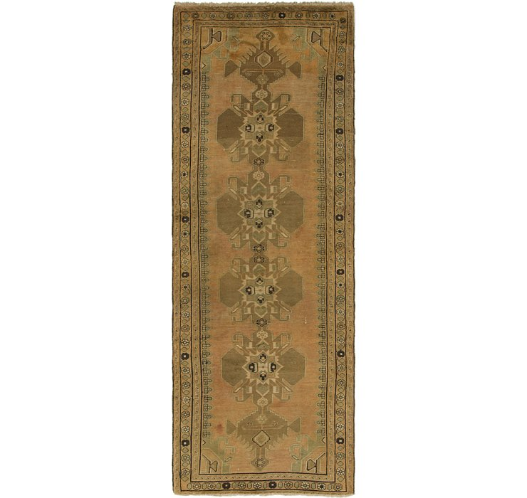 3' 4 x 10' Saveh Persian Runner Rug