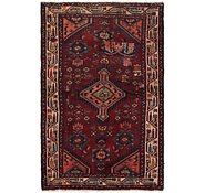 Link to 97cm x 163cm Mazlaghan Persian Rug