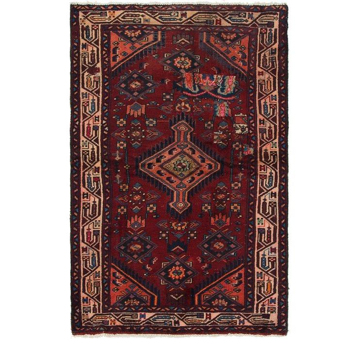 3' 2 x 5' 4 Mazlaghan Persian Rug