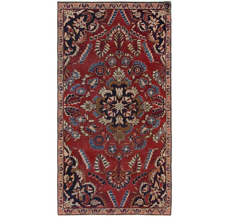 2' 10 x 5' 6 Mahal Persian Rug