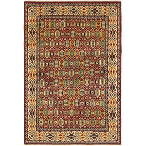 Link to 145cm x 213cm Kazak Rug item page
