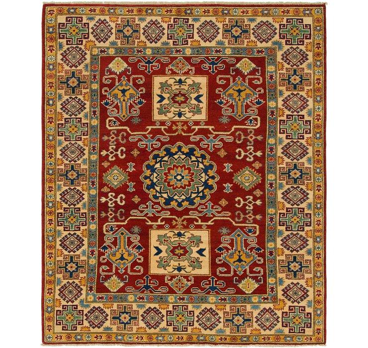 5' 3 x 6' 4 Kazak Square Rug