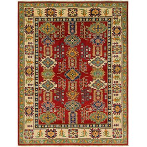 Link to 5' x 6' 6 Kazak Rug item page