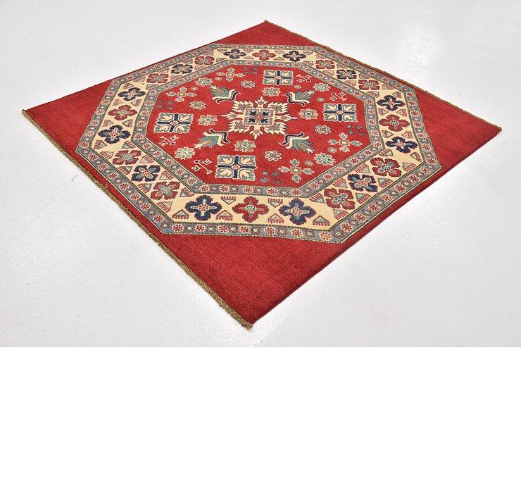 4' 10 x 4' 10 Kazak Square Rug