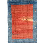 Link to 6' 9 x 9' 6 Shiraz-Gabbeh Persian Rug