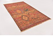 Link to 3' 6 x 6' 1 Shiraz-Gabbeh Persian Rug