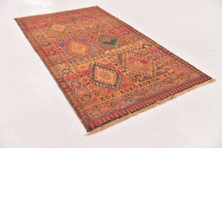 3' 6 x 6' 1 Shiraz-Gabbeh Persian Rug