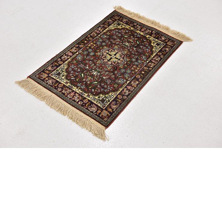 1' 8 x 2' 9 Kashmir Oriental Rug