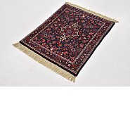 Link to 2' 4 x 2' 9 Bidjar Persian Square Rug