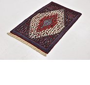Link to 2' 2 x 3' 5 Senneh Persian Rug