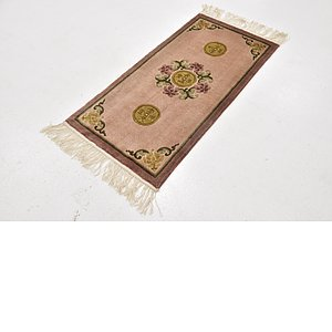 1' 7 x 3' 2 Antique Finish Rug