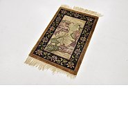 Link to 1' 9 x 2' 7 Antique Finish Rug