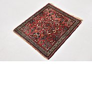 Link to 2' 2 x 2' 6 Sarough Persian Square Rug